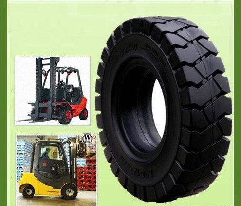 Phụ tùng xe nâng - Tìm hiểu bánh xe nâng lốp cao xu