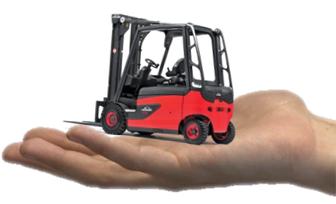 Xe nâng cho thuê tiện dụng cho nhu cầu tạm thời với công ty ít hàng hóa